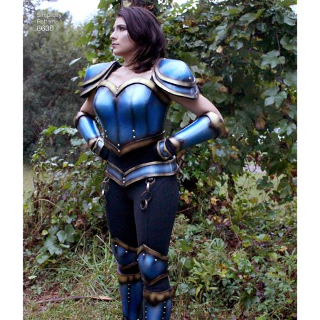 Simplicity Misses' Size 16-24 Cosplay Armor Pattern, 1 - Cosplay Armor For Sale