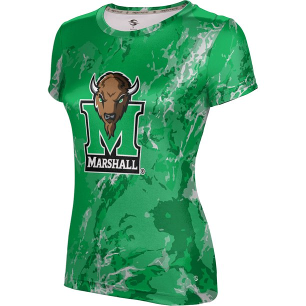 ProSphere Girls' Marshall University Marble Tech Tee
