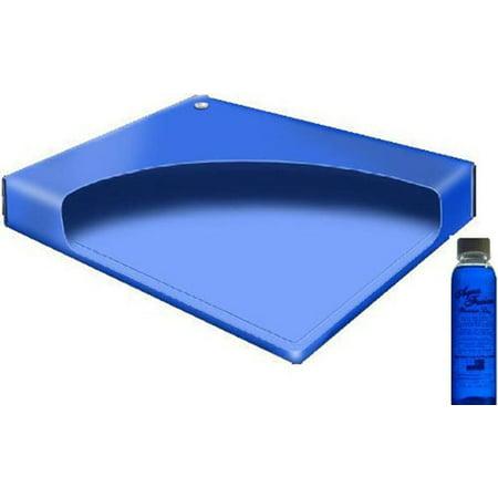 California King Waterbed Mattress (California King Free Flow Waterbed Mattress with a Premium Clear Bottle 4oz Conditioner )
