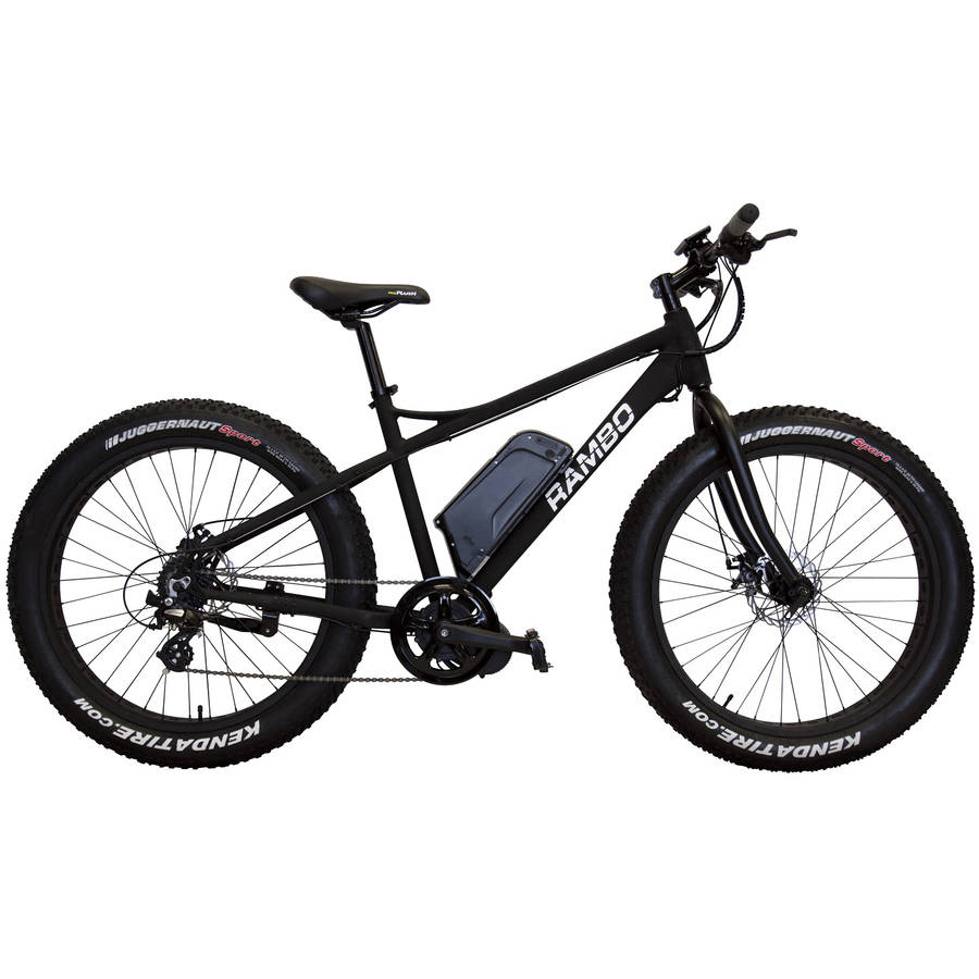 Rambo Bikes R750 Matte Black Fat Bike