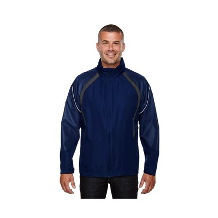 North End Men's Embossed Print Lightweight Hooded Jacket, Style 88168 The North Face Hooded Vest
