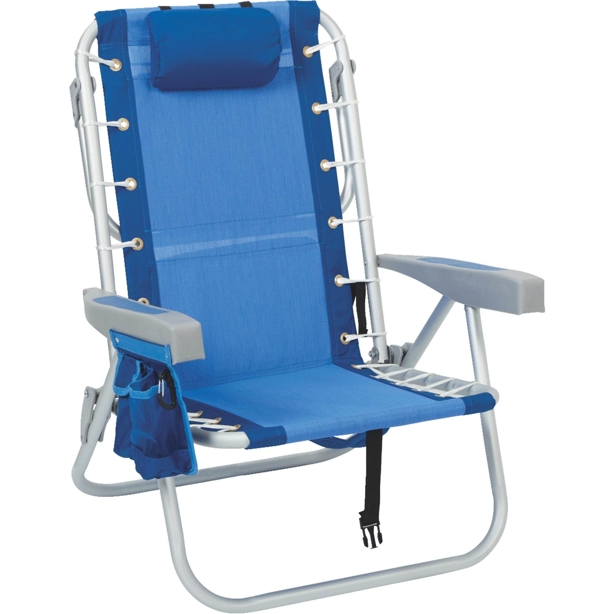 Rio Brands Lace-Up Backpack Folding Lawn Chair