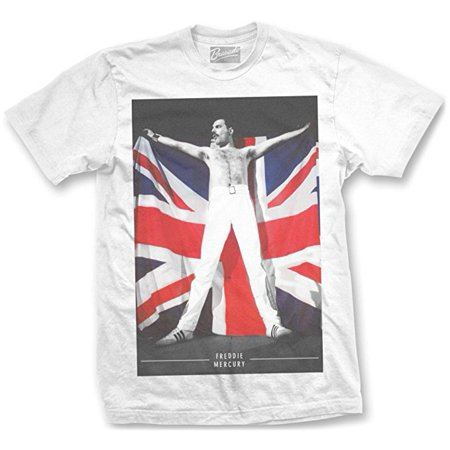 Freddie Mercury Queen Flag T-Shirt (Pearl Jam T-shirts Band)