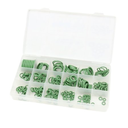 - Unique Bargains 248 in 1 Assortment Green HNBR Auto Car Air Condition O Ring Sealing Gasket