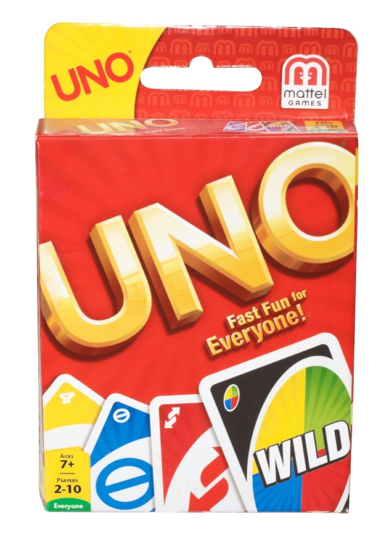 Original UNO Card Game By Mattel by