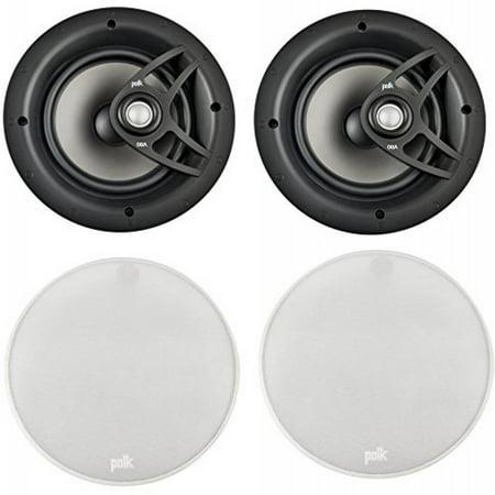 polk high performance easy io install 8 2 way 100 watt in ceiling surround sound speaker system. Black Bedroom Furniture Sets. Home Design Ideas