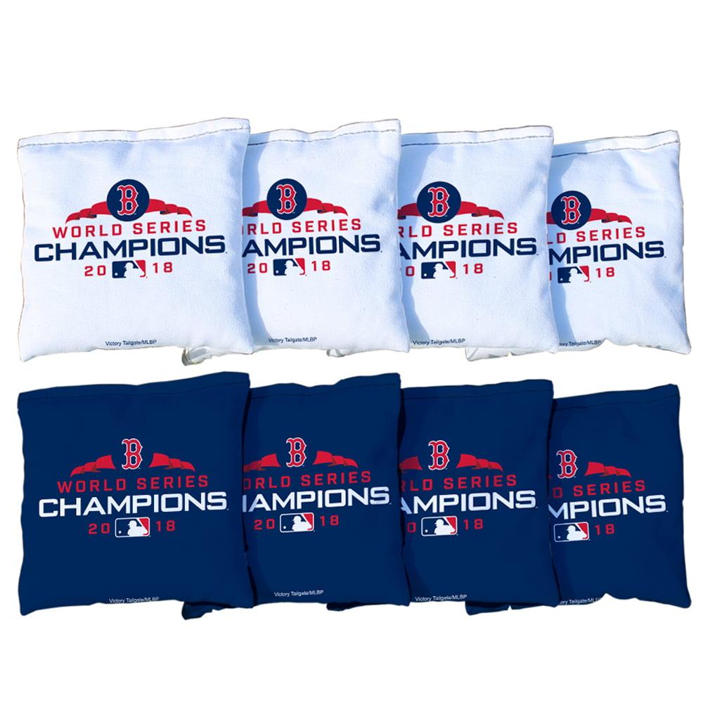 Boston Red Sox 2018 World Series Champions Regulation All-Weather Cornhole Bags Set - No Size