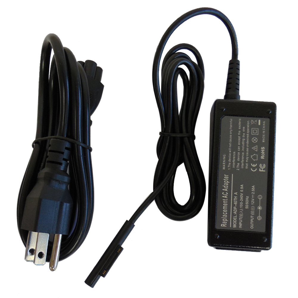 Superb Choice 12V/2.58A Microsoft Surface Pro 3 Tablet Power Supply AC Adapter