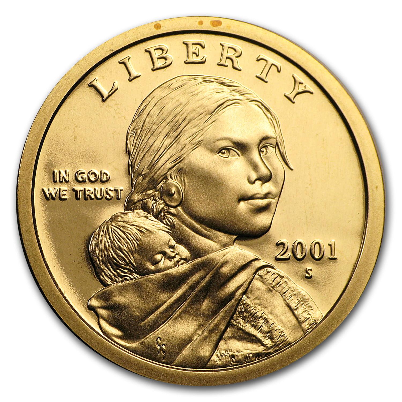 2001 S Sacagawea Dollar Gem Proof Walmart Com Walmart Com