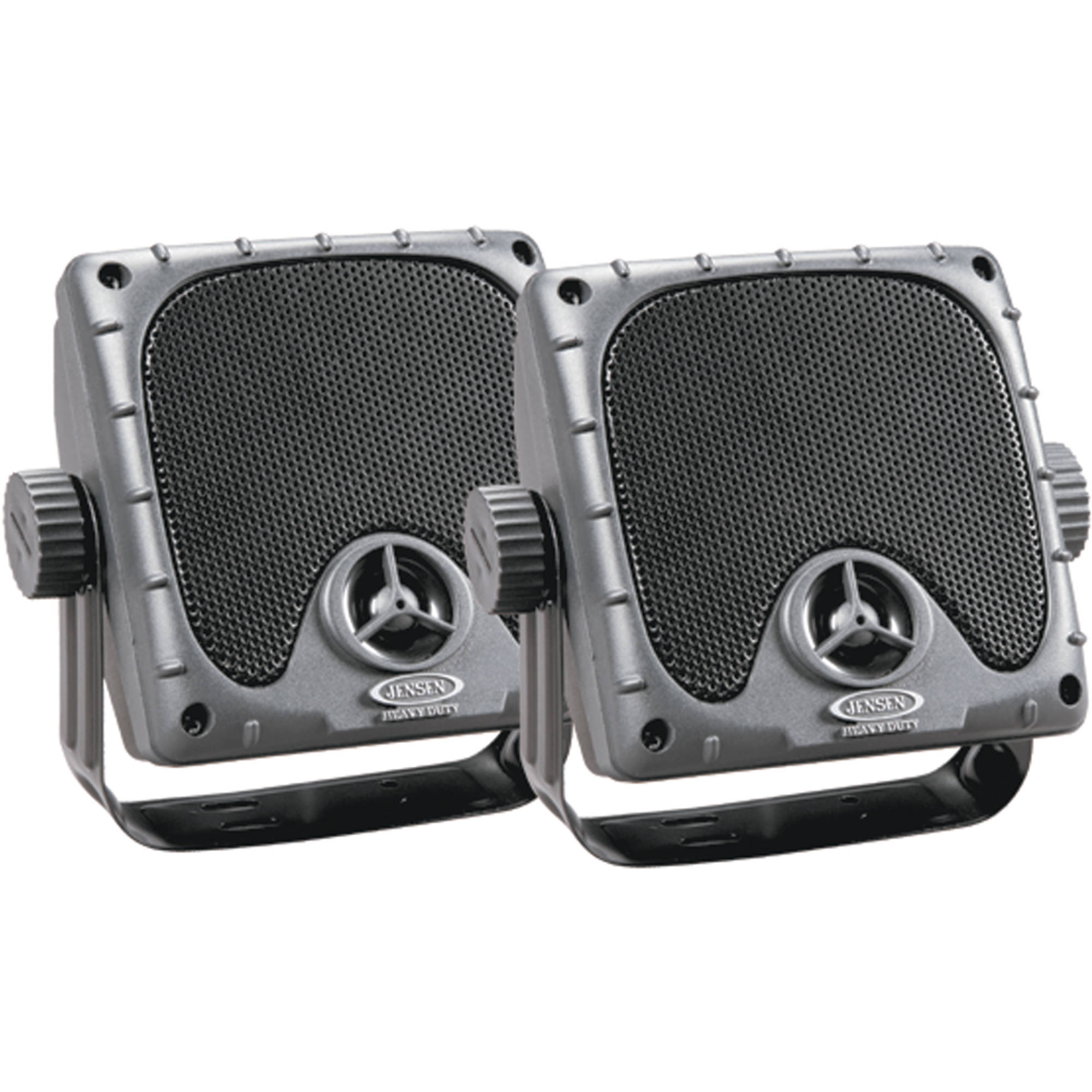 "Jensen JXHD35 Waterproof 3.5"" Mini 30W Surface Mount Marine Speakers, 1 Pair"