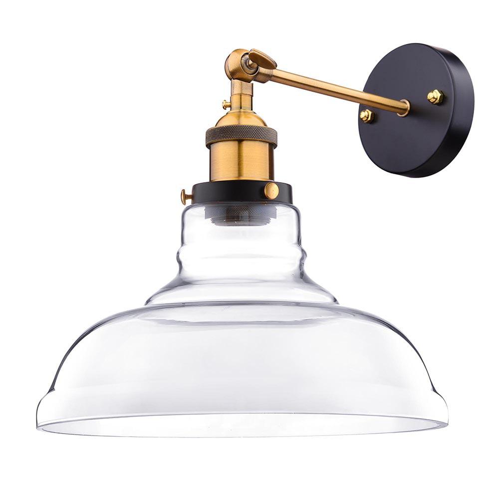 "Yescom Vintage Industrial 11"" Flashlight Shape Glass Light Wall Sconce Edison Lamp... by Yescom"