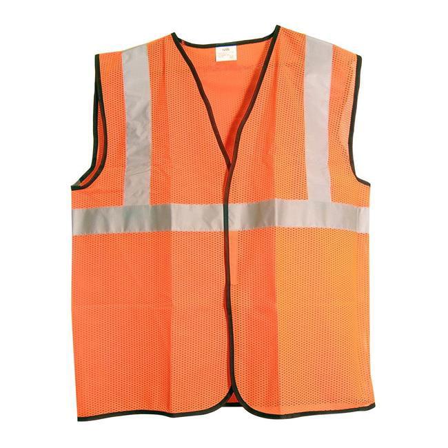 ANSI Class 2 Safety Vest, Orange - 3XL