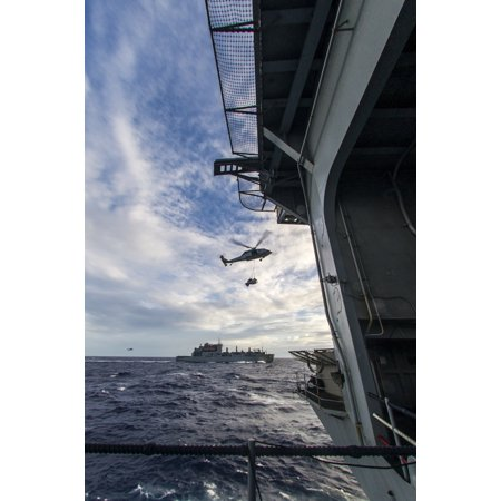 - LAMINATED POSTER 150603-N-CS616-025 WATERS NEAR GUAM An MH-60S Seahawk from the Island Knights of Helicopter Sea Co Poster Print 24 x 36