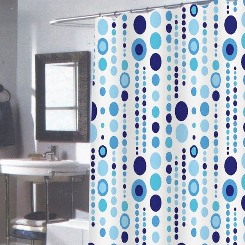 Carnation Extra-Long Shower Curtain - Mia