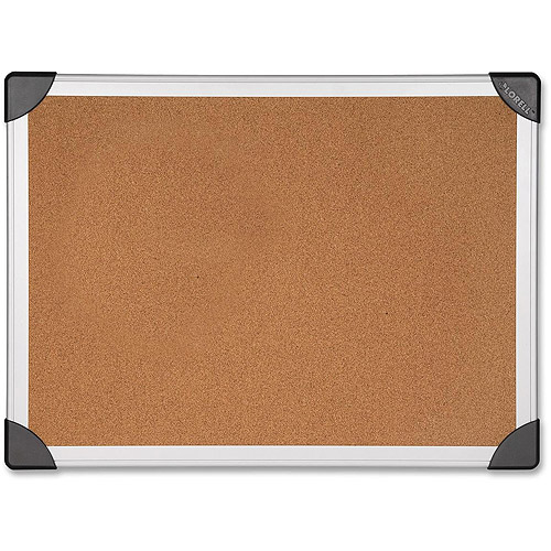 Lorell Mounting Aluminum Frame Corkboards