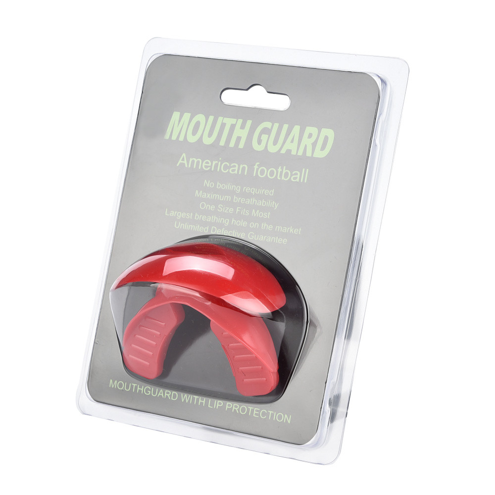 Double side boxing tooth/Sanda mouthguard/wear braces Teeth Protector new