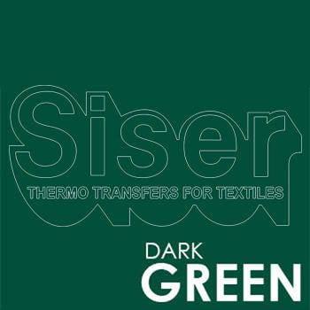 Siser Easyweed Dark Green Iron Heat Transfer Vinyl Roll HTV (Choose Your Size)