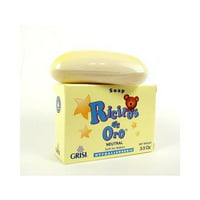 Grisi Ricitos De Oro Hypoallergenic Baby Soap - Neutral 3.5 Oz.