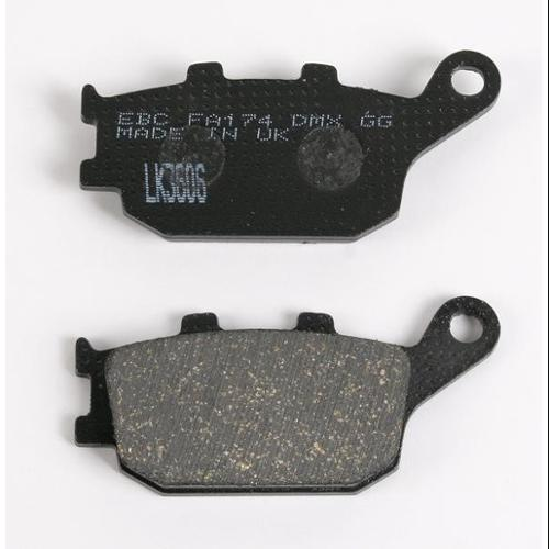 EBC Organic Brake Pads Rear Fits 98-02 Honda VT1100C3 Shadow Aero