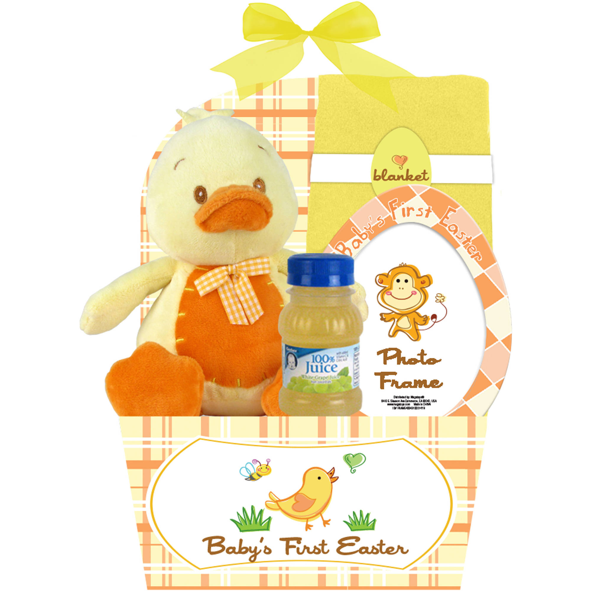 Assorted Baby's First Easter Basket, 5 pc ( Character will vary)