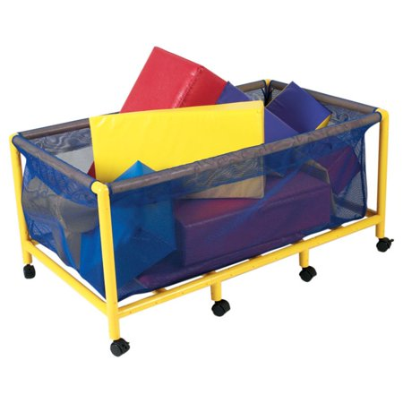 Children's Factory Rectangle Mobile Equipment Toy Box