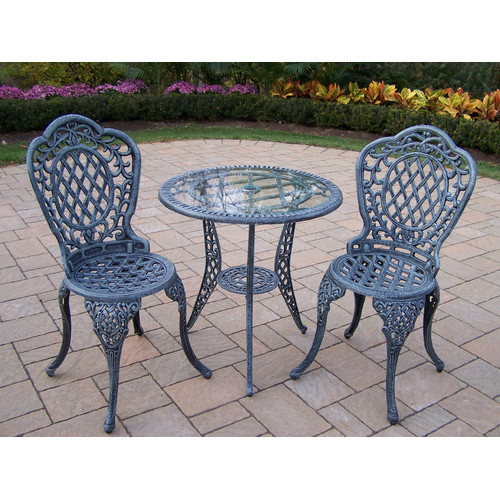 Oakland Living Mississippi 3 Piece Dining Set
