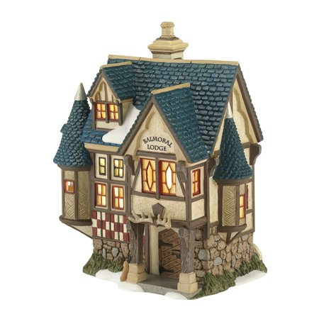 Department 56 Dickens Village 4030362 Balmoral Lodge Lighted Building