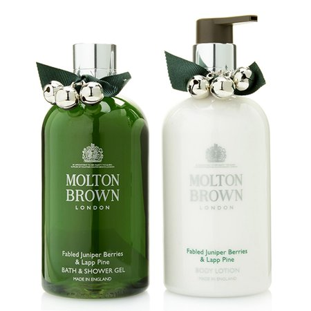 Molton Brown Fabled Juniper Berries & Lapp Pine Shower Gel & Body Lotion Duo