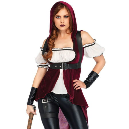 Rebel Costumes (Rebel Red Huntress Costume - Large - Dress Size)