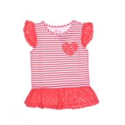 f76c15a483dc Epic Threads Flutter Sleeve Striped Top Size 3T/3