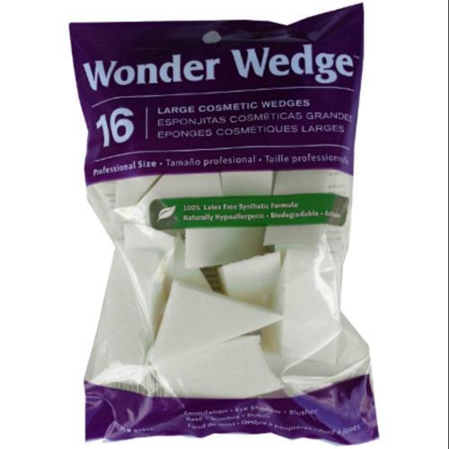 Wonder Wedge Cosmetic Wedge, Large 16 ea (Pack of 6)