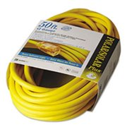 Coc 01688 50 ft. Polar & Solar Indoor-Outdoor Extension Cord With Lighted End, Yellow