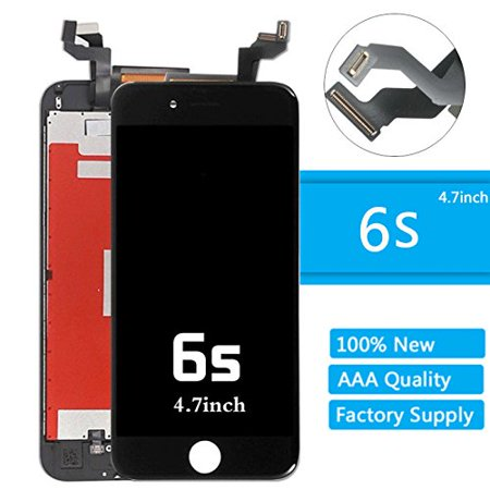 "iPhone 6s Lcd Screen Replacement (4.7 Inch) Display Touch Digitizer Assembly Repair Kit by Mr Repair Parts (6s 4.7"" Black) - Walmart.com"