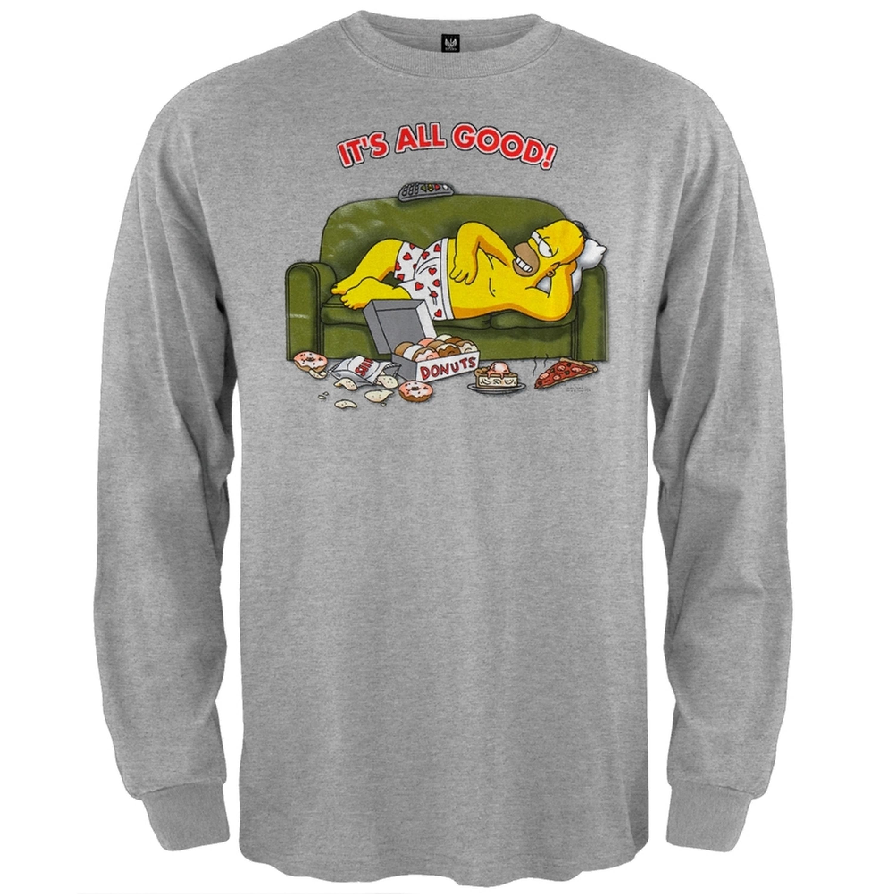 Homer Its All Good Long Sleeve T-Shirt