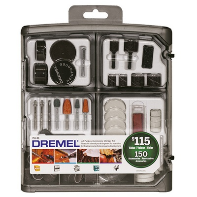 Dremel 711-01 150-Piece All-Purpose Accessory Kit