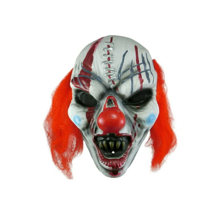 Morbid Enterprises Creepy Clown Face Adult Vacu-Form Costume Mask