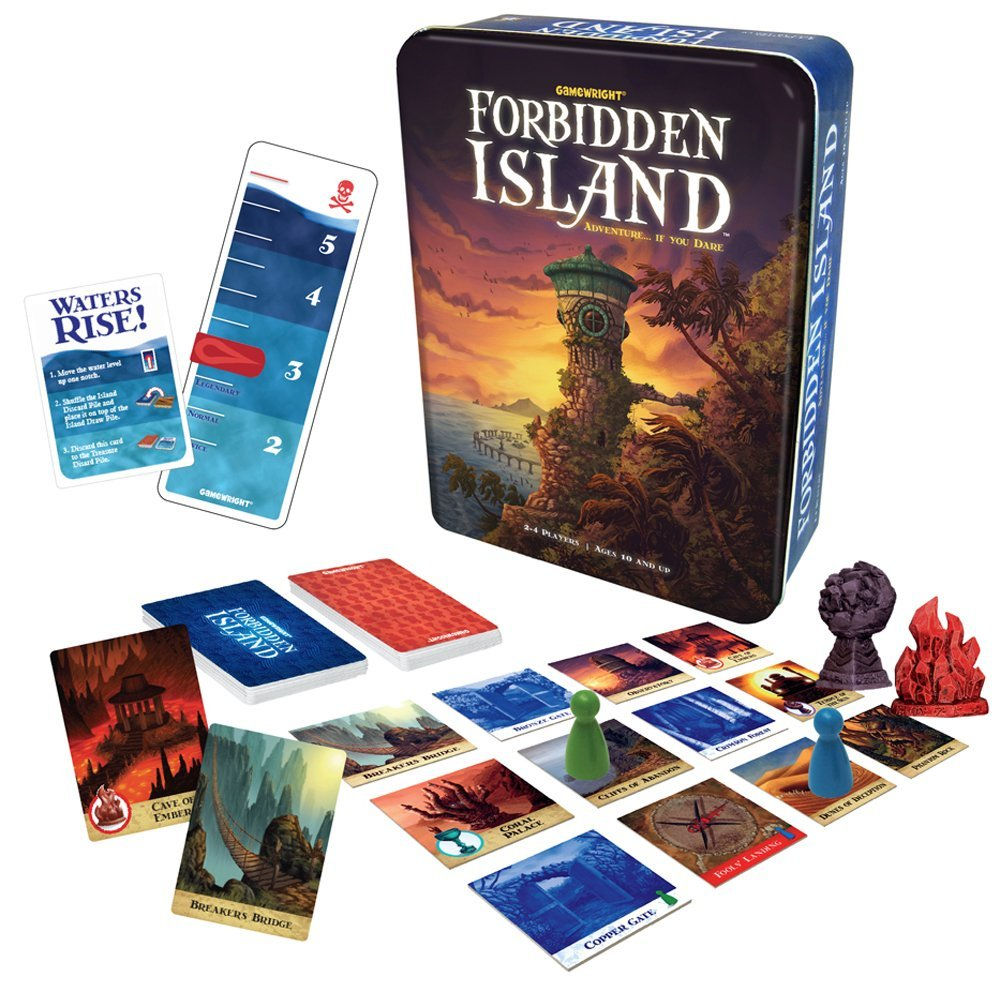 Forbidden Island Multi-Colored