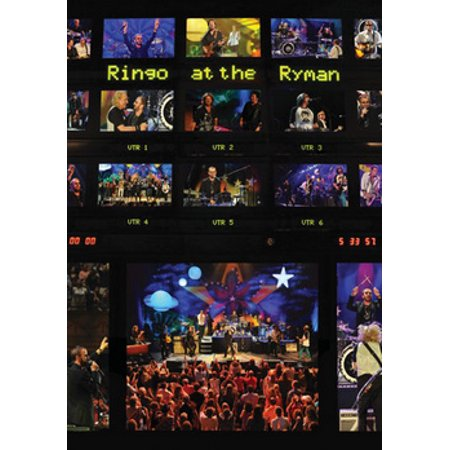 RINGO STARR & HIS ALL STARR BAND-RINGO AT THE RYMAN (DVD/2013)