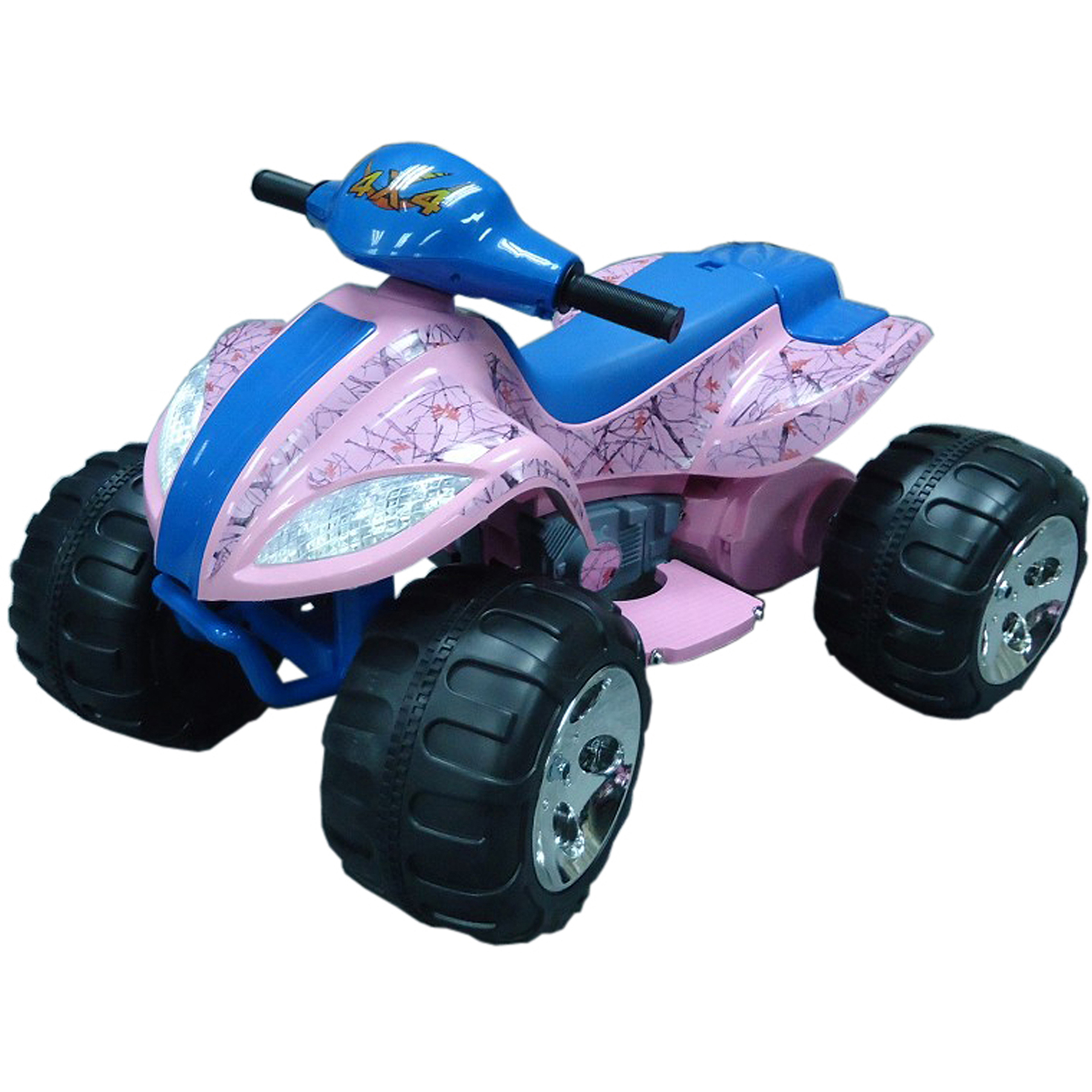 True Timber 6-Volt Battery-Operated Camo Max Quad Ride-On, Pink