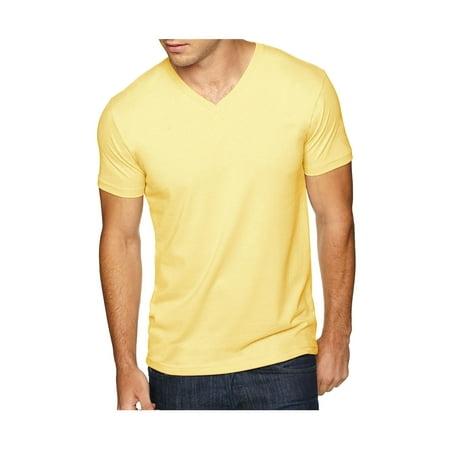 Next Level Men's Premium Sueded Baby Rib Soft V-Neck T-Shirt, Style NL6440