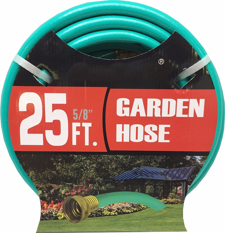 LavoHome Medium Duty Premium Garden Hose Lawn Water (25 Feet, Garden Hose) by Unique Imports