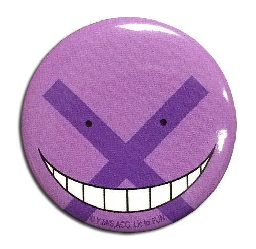 "Assassination Classroom Koro Sensei Key Art 1.25/"" Anime Button GE-16535"