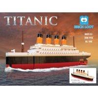 Brick Loot Large Titanic Ship - 390 Brick Pieces