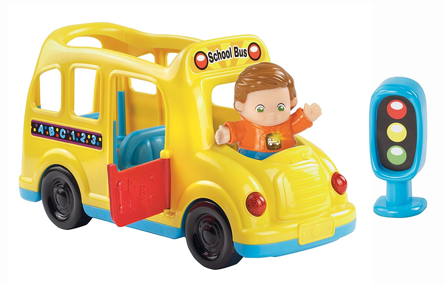 Go! Go! Smart Friends Learning Wheels School Bus, Take a ride on the VTech Go! Go! Smart... by