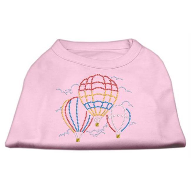 Hot Air Balloon Rhinestone Shirts Light Pink Xxxl (20) - image 1 of 1