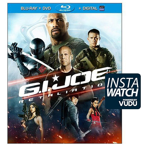 G.I. Joe: Retaliation (Blu-ray   DVD   Digital Copy) (With INSTAWATCH) (Widescreen)