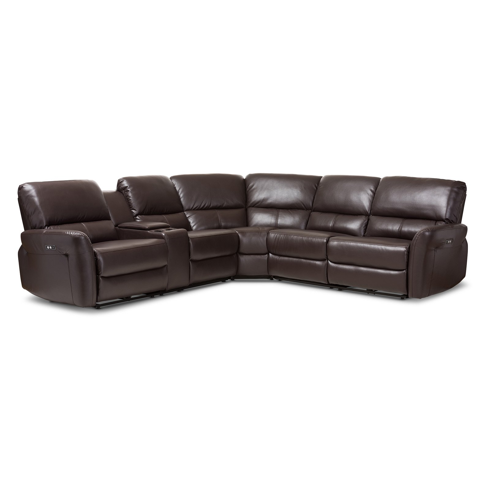 Baxton Studio Amaris Modern And Contemporary Dark Brown