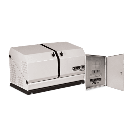Champion 100179 12.5-kW Home Standby Generator with 100-Amp Outdoor-Rated Automatic Transfer Switch ()