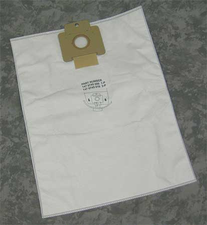 NILFISK 1470745010 Disposable Bag, PK 3