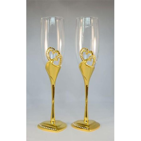 Stunning Wedding Toasting Flutes & Champagne Glasses for $<!---->